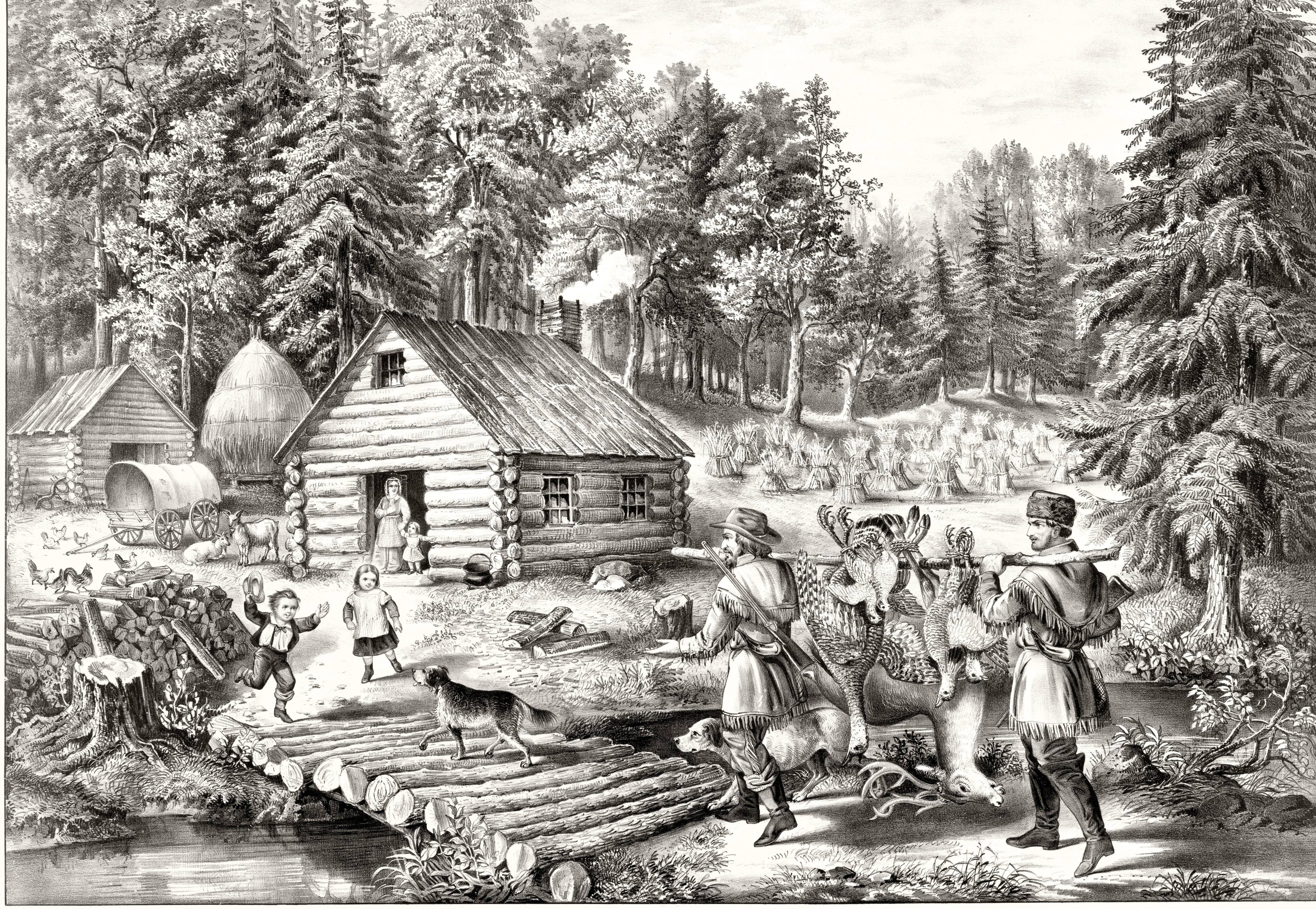 Pioneer's home